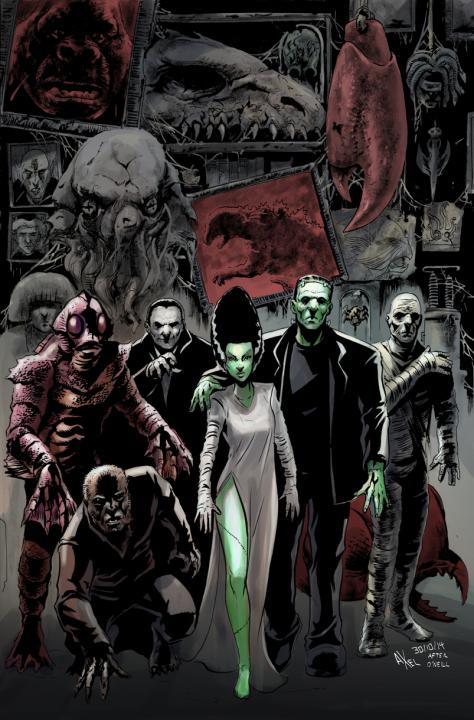 Final Unlettered Horror Crossover Enclcopedia Cover