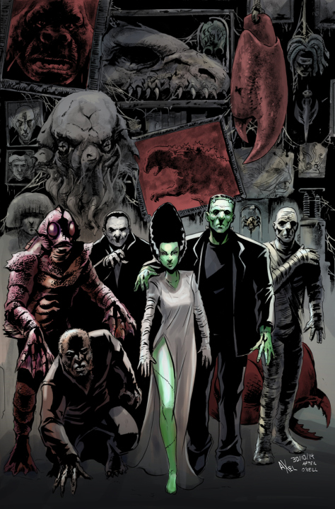 Final Unlettered Horror Crossover Enclcopedia Cover