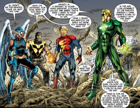 Image result for Alan Scott, Jay Garrick, Al Pratt, etc. earth-2